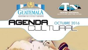 AGENDA TEATRO NACIONAL OCTUBRE