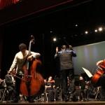 Edicson Ruiz y la Orquesta Sinfónica Nacional complace con su fusión de talentos