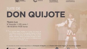 Suite don quijote ballet nacional de guatemala