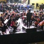 Orquesta Sinfónica Juvenil de Guatemala lleva música navideña a Ciudad Vieja