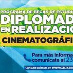 Interesados en producción cinematográfica podrán acceder a becas para diplomado