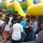 Festival Recreo lleva diversión a pobladores de Petén