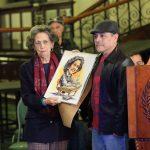 """Exposición """"Propuestas Colectivas"""" reúne la obra de 76 artistas en el Palacio Nacional de la Cultura en honor a María Eugenia Gordillo"""