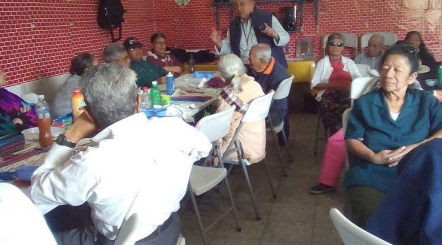 Atención a adultos mayores fortalece su calidad de vida