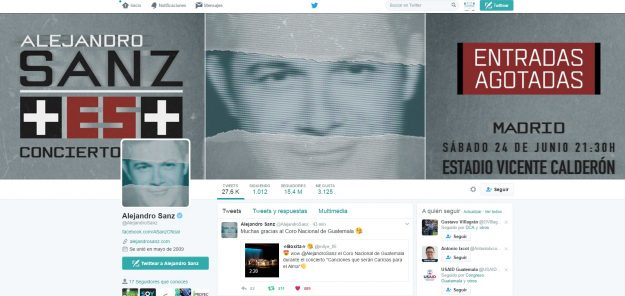 screenshot alejandro sanz