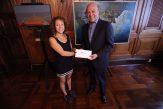 Bailarina Ileana Ortega recibe apoyo para participar en actividad artística en el extranjero