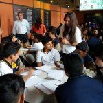 Jóvenes reciben taller sobre el conflicto armado interno1_110826