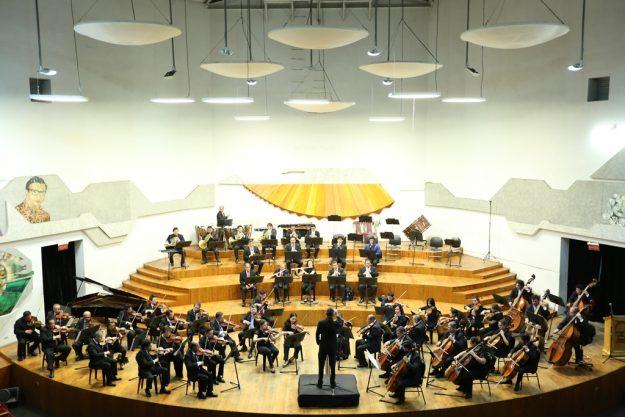 Orquesta Sinfónica Nacional en el primer concierto de la Temporada Oficial 2017