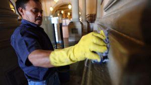 trabajos de restauracion Palacio Nacional