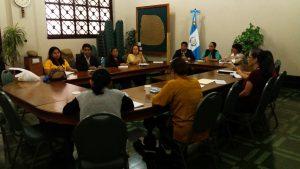 trabajo interinstitucionales sobre el caso Sepur Zarco