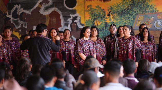 CORO NACIONAL DE GUATEMALA EN HUEHUETENANGO