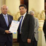 Ministerio de Cultura y Deportes agradece donación de luminarias en el Palacio Nacional de la Cultura