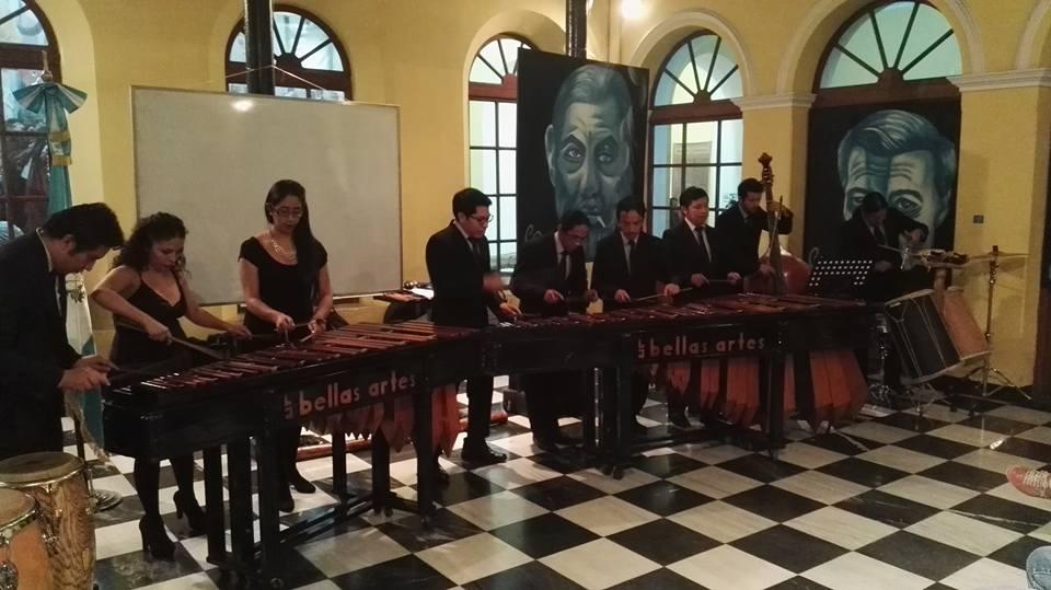 Noche de los Museos Marimba de Concierto de Bellas Artes