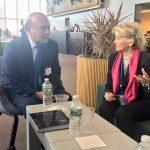 Reunión bilateral en la sede de la ONU