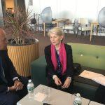 Reunión bilateral en la sede de la ONU 1