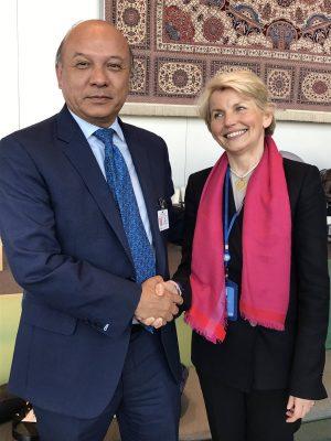 Reunión bilateral en la sede de la ONU 2