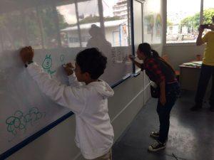 MCD realiza actividades para dar a conocer aulas modulares