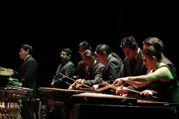 Marimba de bellas artes colombia