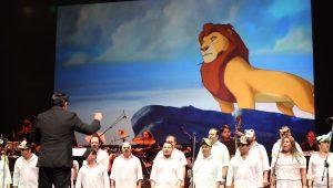 Príncipes y princesas protagonizan presentación del Coro Nacional de Guatemala