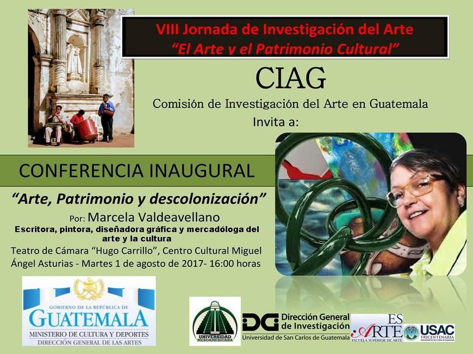 VIII Jornada de Investigación del Arte y el Patrimonio