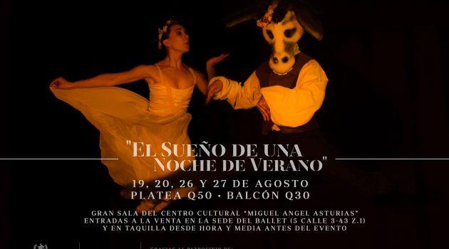 Ballet Nacional de Guatemala cierra su Temporada Oficial