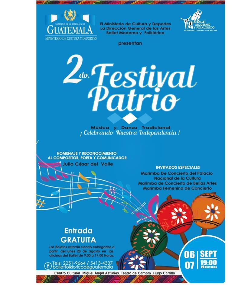 Festival Patrio Ballet Moderno y Folklórico 2