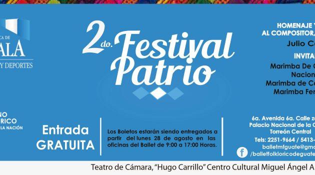 Festival Patrio Ballet Moderno y Folklórico