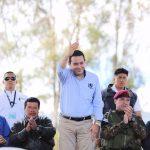 Ministro chea y presidente Morales entregan implementos en ixchiguan san marcos 2