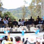 Ministro chea y presidente Morales entregan implementos en ixchiguan san marcos 4