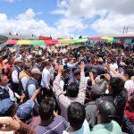 Ministro chea y presidente Morales entregan implementos en ixchiguan san marcos 4 5
