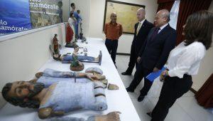 MCD entrega patrimonio cultural religioso a HONDURAS