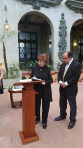 Oratorio El Mesías y la Asociación Civil Arte por la Educación realiza Cambio de la Rosa de la Paz 4