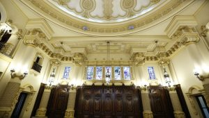 Salón de Recepciones del Palacio Nacional de la Cultura es rehabilitado 3