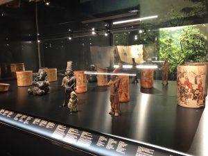 exposición de piezas mayas en Alicante, España 1