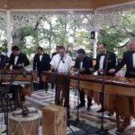 Marimba de Concierto del Palacio Nacional de la Cultura ofrece su talento en Chiapas, México
