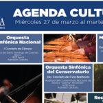 Agenda Cultural del mes de marzo
