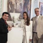 Ministro Elder Súchite Vargas presenta riqueza cultural de Guatemala en la 58 Bienal de Venecia