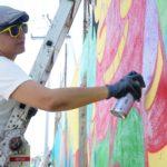 Murales iluminan calles de la ciudad de Guatemala
