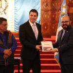 Ministerio de Cultura y Deportes entrega informe de resultado de proyecto en el área de Chixoy