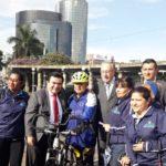 Ministerio de Cultura y Deportes reconoce el esfuerzo del ciclista Gustavo Ajuria
