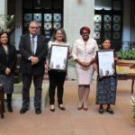Ministerio de Cultura y Deportes otorga Cambio de la Rosa de la Paz a entidades que luchan por la armonía
