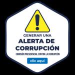 Botón página web contra la corrupcion